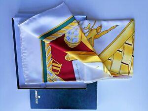 Audemars Piguet Pure Silk Scarf  - Boxed NOS - VIP Gift Carnegie Club