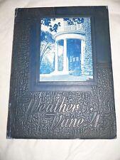 """1945 Westfeild High School Yearbook """"The Weather Vane"""" New Jersey"""