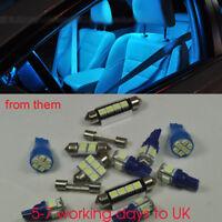 Ice Blue 8 Lights Error Free SMD LED Interior Package Kit FIT Honda JAZZ 2009-11