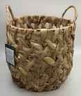 Brand New Threshold Decorative Open Weave Storage Basket - Hand Crafted