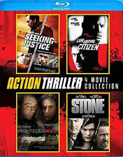 ACTION THRILLER 4-PACK - BLU RAY - Region A - Sealed