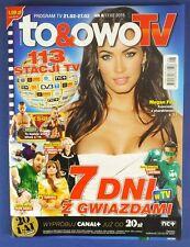 MEGAN FOX mag.FRONTcover Poland Ben Affleck,Bradley Cooper,Jet Lee,Ryan Reynolds