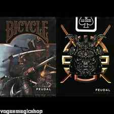 Feudal Samurai Deck Bicycle Playing Cards Poker Size USPCC Limited Edition New
