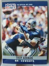 Troy Aikman 1990 Pro Set Football Cowboys #78