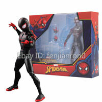 "Miles Morales Spiderman into the Verse Marvel Comic Heroes 7"" Figure ZD Toys"