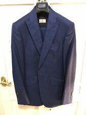 Stunning Hackett Mayfair Peak Lapel 3 Piece 1 Button Slim Fit Suit RRP £980