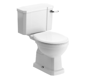 Top Quality Traditional Victorian Style Toilet WC Set Incudes Soft Close Seat