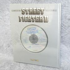 STREET FIGHTER II 2 Complete File w/CD & Shadaloo Map Art Book