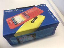 NEU Nokia 206 schwarz 02 Netzwerk gesperrt-nächsten Tag UK