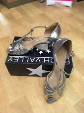 ROCH VALLEY BALLROOM SHOES LADIES LATIN MATILDA Gold Or Silver Sizes 3 to 8 UK