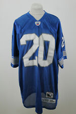 More details for mitchell&ness nfl detroit lions #20 sanders jersey size 60