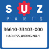 36610-33103-000 Suzuki Harness,wiring no.1 3661033103000, New Genuine OEM Part