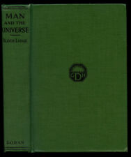 Oliver Lodge / Man and the Universe Signed 1st Edition 1920
