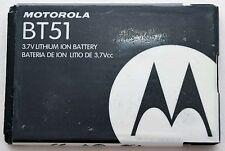 NEW OEM Motorola BT51 Phone Battery KRZR ROKR MOTO RIZR W385 V360 W755 Z6m V325