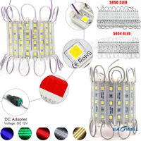 SMD5050/5054 LED Module 3/6LED Light 12V For Sign Letter Channel Lamp Waterproof
