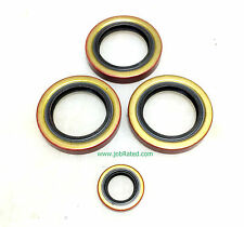 Military WW2 Dodge WC 1/2 &  3/4 Transfer Case  New Set Double lip seals