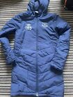 Everton FC Boys Long Puffer Training Jacket