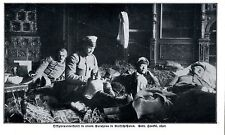 Offiziersunterkunft in einem Gutshaus in Russische-Polen 1914 * WW 1