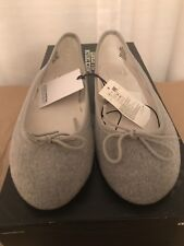 NWT Womens Gap Wool Ballet Flats Size 7 MSRP $59.95 Grey Flannel