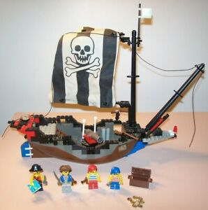 Vintage Lego 6268 Renegade Runner Pirate Ship 1993 Incomplete