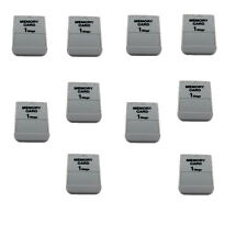 10* New 1MB Memory Card For Playstation 1 One PS1 PSX Game 1 MB Fast Shipping US