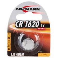 """ANSMANN Pile bouton en lithium """"CR1620"""",  3 Volt, blister d'1"""