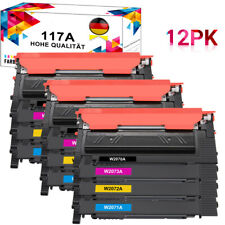 Toner Set für HP 117A Color Laser MFP 178nwg 179fnw 179fwg 150a 150nw Mit Chip