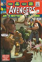 AVENGERS OMNIBUS SEALED HARDCOVER ~ Stan Lee, Jack Kirby+ Marvel Comics