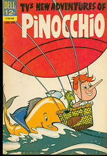 Dell Comic Lot, TV's New Adventures of Pinocchio  #2,3 G to Fine