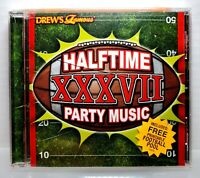 Drew's Famous Halftime XXXVII Football Party Music CD New