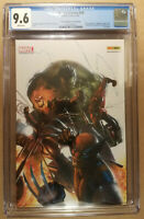 Marvel Heroes #28 Euro French Dell'Otto Panini Variant CGC 9.6! Embossed Cover!