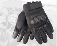 Summer Motorcycle Motorbike Gloves Winter Knuckle Protection Carbon Fiber AU