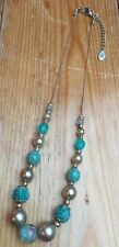 Accessorize Chain Round Stone Costume Necklaces & Pendants