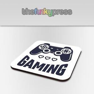 Gaming Controller Coaster Tea Coffee Drink Mat Gift Birthday Video Games Gamer