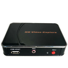 1080P HD Game Capture Card HDMI Video Recorder + Mic for Xbox 360 One PS3 PS4 TV