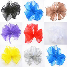 Wide Organza trimming Ribbon for fascinator hat millinery making B059