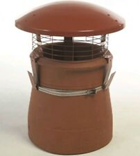 The UK Chimney Pot Rain Cowl for Wood Burners Log Burners & Multi-fuel Stoves