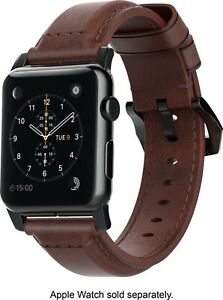 NEW Nomad Brown Leather Band Apple Watch 38mm / 40mm Series 1 2 3 4 5 6 SE 7000