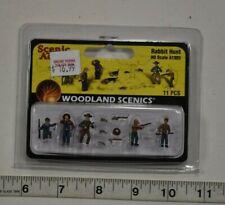 "HO Scale Woodland Scenics ""Scenic Accents"" 1903 - Rabbit Hunt"