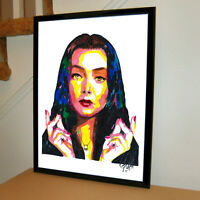 Morticia Addams The Addams Family Carolyn Jones Poster Print Wall Art 18x24