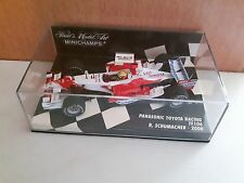 Minichamps TOYOTA Panasonic Racing TF106 R.Schumacher 2006  Maß:1/43 OVP