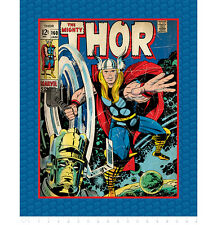 "FABRIC PANEL Camelot Cottons ~ THE MIGHTY THOR ~ by Marvel Comics 36"" x 44"""