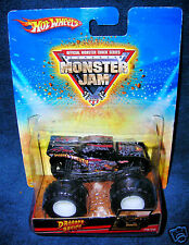 HOT WHEELS 2009 DRAGONS BREATH MONSTER JAM TRUCK CLASSIC LEGENDS MUD COARSE