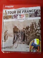 CYCLISME L'EQUIPE LIVRE  LA GRANDE HISTOIRE DU TOUR DE FRANCE 1903-1939