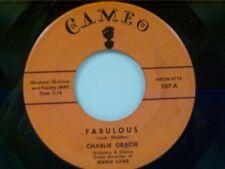 "CHARLIE GRACIE ""FABULOUS / JUST LOOKIN"" 45"