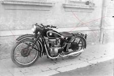 NEGATIV - Österreich 50iger Jahre Oldtimer Motorrad BMW