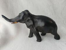 Vintage Elephant Figurine Heavy Metal Collectible Retro Unique Find