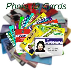 Plastic Card Printing    Personalised Custom Photo ID   Membership Cards  