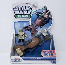 Star Wars Jedi Force Hasbro Playskool Heroes Speeder Bike & Luke Skywalker