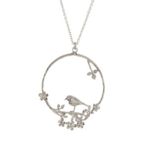 Alex Monroe Bird & Posy Necklace